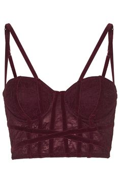 Velvet and Lace Corset | $58