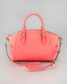 Love the color and the shape!  kate spade new york charlotte street small sloan tote bag, coral