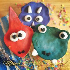Dinosaur shortbread cookies. Shortbread Cookies, Cake Cookies, Cake Pops, Desserts, Tailgate Desserts, Deserts, Postres, Dessert, Cakepops