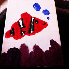 A painting I did in November... NEMO!!!!!