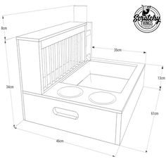 Nibbler Combo Raw, bunny rabbit hay and food feeder with built in litter box and a free standing water bottle holder, hay feeder, rack Rabbit Feeder, Hay Feeder, Food Feeder, Rabbit Litter Box, Litter Pan, Pet Rabbit, Rabbit Pen, Bunny Cages, Rabbit Cages