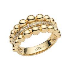 Diamond Jewelry Effervescence Bubble Yellow Gold Diamond Ring, Links of London Jewellery - Gold Diamond Rings, Silver Diamonds, Diamond Pendant, Diamond Jewelry, Jewelry Rings, Jewelry Box, Diamond Earrings, Jewelry Accessories, Fine Jewelry