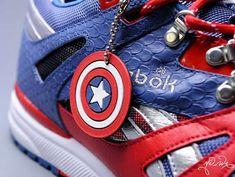 Comic Book-Themed Kicks