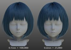 Third: flocking in the hair of creation and check rendering ~ HairFarm! ~ | CharacterArpeggio ~ 3ds Max 2017 character creation surgery ~ | AREA JAPAN