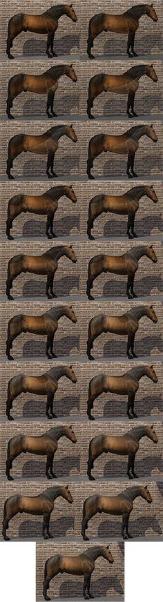 winter coat + 18 clips - by Charlotte Newbridge on Equus-Sims (part of ES 2016 Advent Calendar)