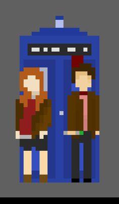 doctor who pixel art