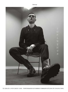 Military Influence: Gabriel-Kane Day-Lewis Stars in Details Editorial