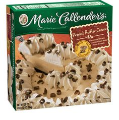 Marie Callender's Peanut Butter Creme Pie: 4 grams per serving