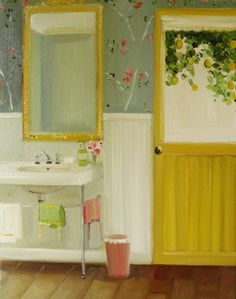 Coconut Soap and a Lemon Tree by Janet Hill