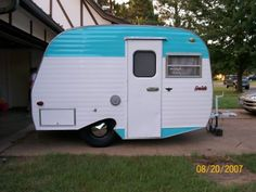 blue trailer - Is there anything cuter? Hitch me up!