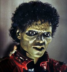 MJ Thriller-Halloween Make Up-Ideen-Kostüme Zombie