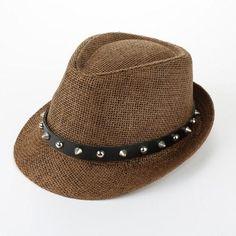 bd13719ed9f  TomTop -  TomTop Fashion Summer Sun Straw Men Women Panama Hat Beach Cap  Rivet