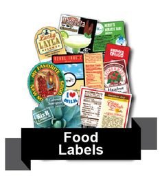 Foodie Finds with SixB Food Labels