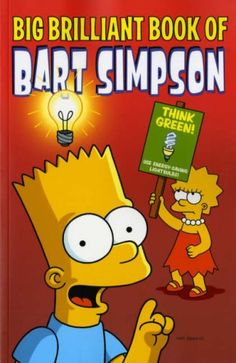 Simpsons Comics Presents The Big Brilliant Book of Bart by Matt Groening http://www.amazon.co.uk/dp/1845767527/ref=cm_sw_r_pi_dp_VHj6wb0RBNSCA