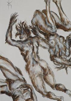 Yves Grandjean artiste peintre et sculpteur. Oeuvre acrylique.