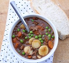 Get the comfort of slow cooked beef stew with this easy recipe for a 15 minute version. Delicious and hearty and perfect for cooler weather!
