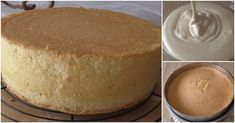 Sponge cake cake used in cake making and all the tricks … - Cake Sponge Cake, How To Make Cake, Vanilla Cake, Cake Recipes, Cheesecake, Food And Drink, Cooking Recipes, Pudding, Desserts