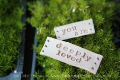 You are deeply loved. A powerful message from Brave Girls Club.