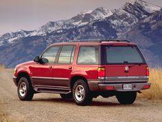 Mercury Mountaineer '1997–98