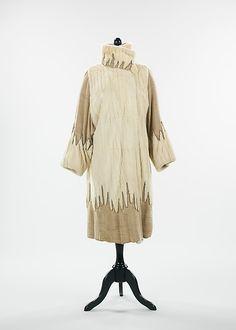 Stein & Blaine (American). Evening coat, 1925. The Metropolitan Museum of Art, New York. Brooklyn Museum Costume Collection at The Metropolitan Museum of Art, Gift of the Brooklyn Museum, 2009; Gift of Mrs. J. H. Rose, 1955 (2009.300.210).