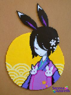SerenaAzureth_Geisha_Rabbit2 by SerenaAzureth, via Flickr