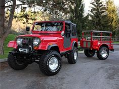 1980 JEEP CJ-7 CUSTOM SUV - Front