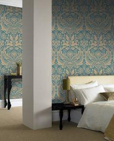 Desire: Teal Wallpaper