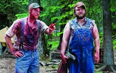 Still of Tyler Labine and Alan Tudyk in Tucker and Dale vs Evil... this movie made me laugh so hard my stomach hurt.