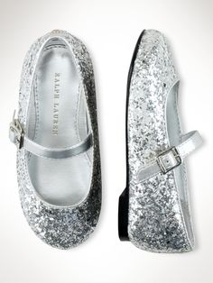duh...... sparkle is always good..... Ralp Lauren Etta Ballet Flat