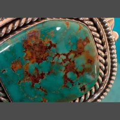 Fox Turquoise and silver Bracelet jewelry by Albert Lee