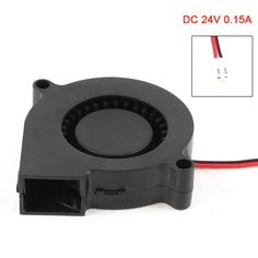 New 2 Pin Connector Brushless DC 24V 0.15A Turbo Blower Cooling Fan  QJY99 #Affiliate