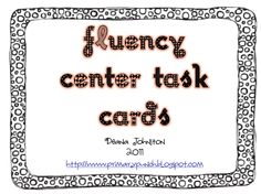 Task Cards to use with ANY poem!