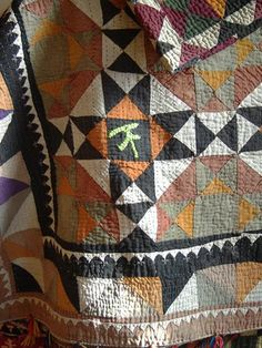 Ralli quilts from Sindh, Pakistan