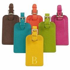 beautiful luggage tags