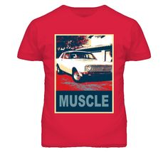 1968 Ford Falcon Muscle Car Hope Style T Shirt