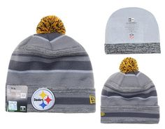 NFL PITTSBURGH STEELERS BEANIES Fashion Knitted Cap Winter Hats Gray New Era 412|only US$8.90
