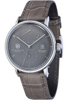 8bf83097bb DuFa Albers Automatic Power Reserve Grey