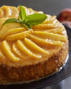 Peaches and Cream Cheesecake Just Desserts, Delicious Desserts, Yummy Food, Cheesecake Recipes, Dessert Recipes, Baking Recipes, Cookie Recipes, How Sweet Eats, Sweet Recipes