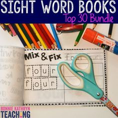 Do you have students who struggle with learning high frequency/sight words? Learning high frequency words is essential to helping students gain confidence while reading. Using pictures with words helps ELL learners. These repetitive activities help students gain confidence when reading. Students love these interactive Sight Word books!