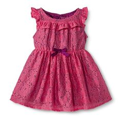 Infant Toddler Girls' Lace Dress