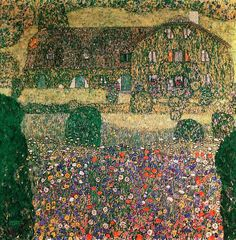 Country House by the Attersee. Klimt, Gustav • download painting • Gallerix.ru