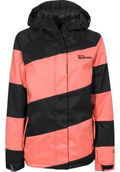 Westbeach Lady-Racer-11 Snowboard-Jacket black-orange   Titus Onlineshop