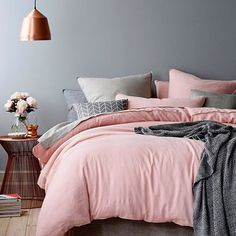 #Repost @immyandindi Stunning! Blush copper and grey - is it still your fave? Photo for an old @Adairs campaign #bedroom #bedroomdesign #bedroomstyle #copper #blush #grey #decor #design #style #styling #interior #interiordesign #interiordesigner #homewares by findingmyutopia