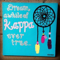 Kappa Kappa Gamma dream catcher craft opportunity!