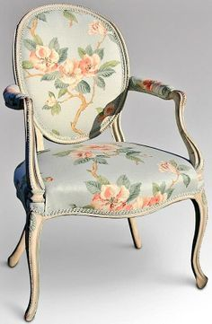 Foy and Co ‏@Foy & Co 22h Another completed job, a painted French Chair upholstered in a floral fabric pic.twitter.com/ctTzfDPivI