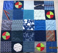 Quirky Quilts -- quilts with lots of texture, sometimes called fidget quilts. Good for little ones, developmentally delayed, or dementia