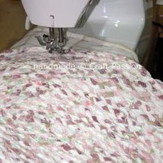This is a great tutorial on how to make a rug out of bed sheets.--Braided-Rag-- Love this one!