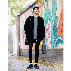 Captured in #Kreuzberg by @thestyleograph wearing @5preview_official jacket, Stella McCartney hat, Alexander Wang top and Nike shoes from @luisaviaroma  Don't forget to visit my blog for more pics, link in bio!