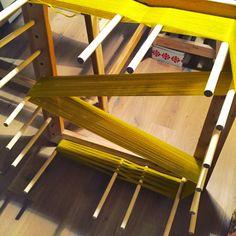 yellow warp  by Sara Pierazzuoli