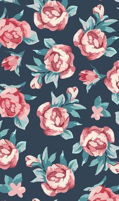 Wallpaper s, vintage flowers wallpaper, floral wallpaper iphone, wallpaper Cute Backgrounds, Phone Backgrounds, Cute Wallpapers, Wallpaper Backgrounds, Iphone Wallpaper, Wallpaper For Your Phone, Flower Wallpaper, Cool Wallpaper, Pattern Wallpaper